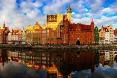 Gdansk riverfront