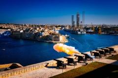 Saluting battery, Valletta