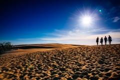 Sand dunes in Słowinski National Park