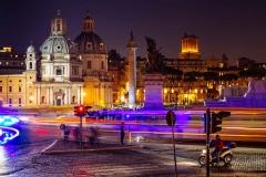 Traffic, Piazza Venezia, Rome