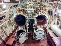 The torpedo tubes in the EML Lembit
