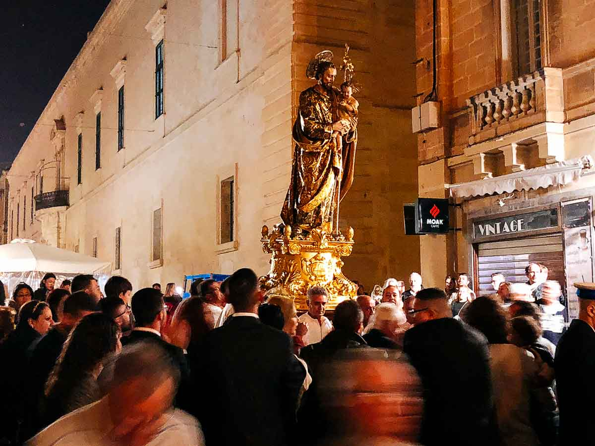 St. Joseph carried.