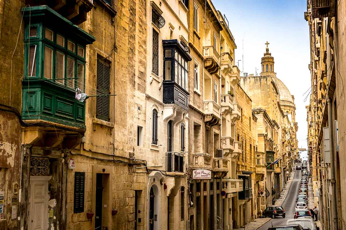 Mint Street, Valletta