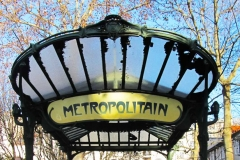 Paris metro station Abbesses, by Hector Guimard (1900)