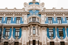One of Riga's Art Nouveau treasures.