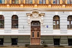 One of Riga's Art Nouveau treasures.