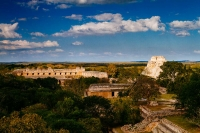 The Mayan city of Uxmal