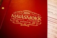 Maiasmokk café menu cover