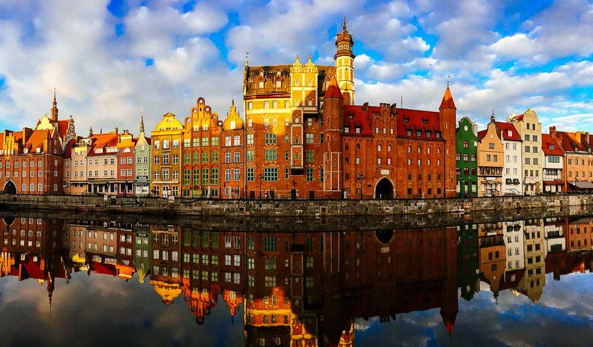 Gdańsk-riverfront