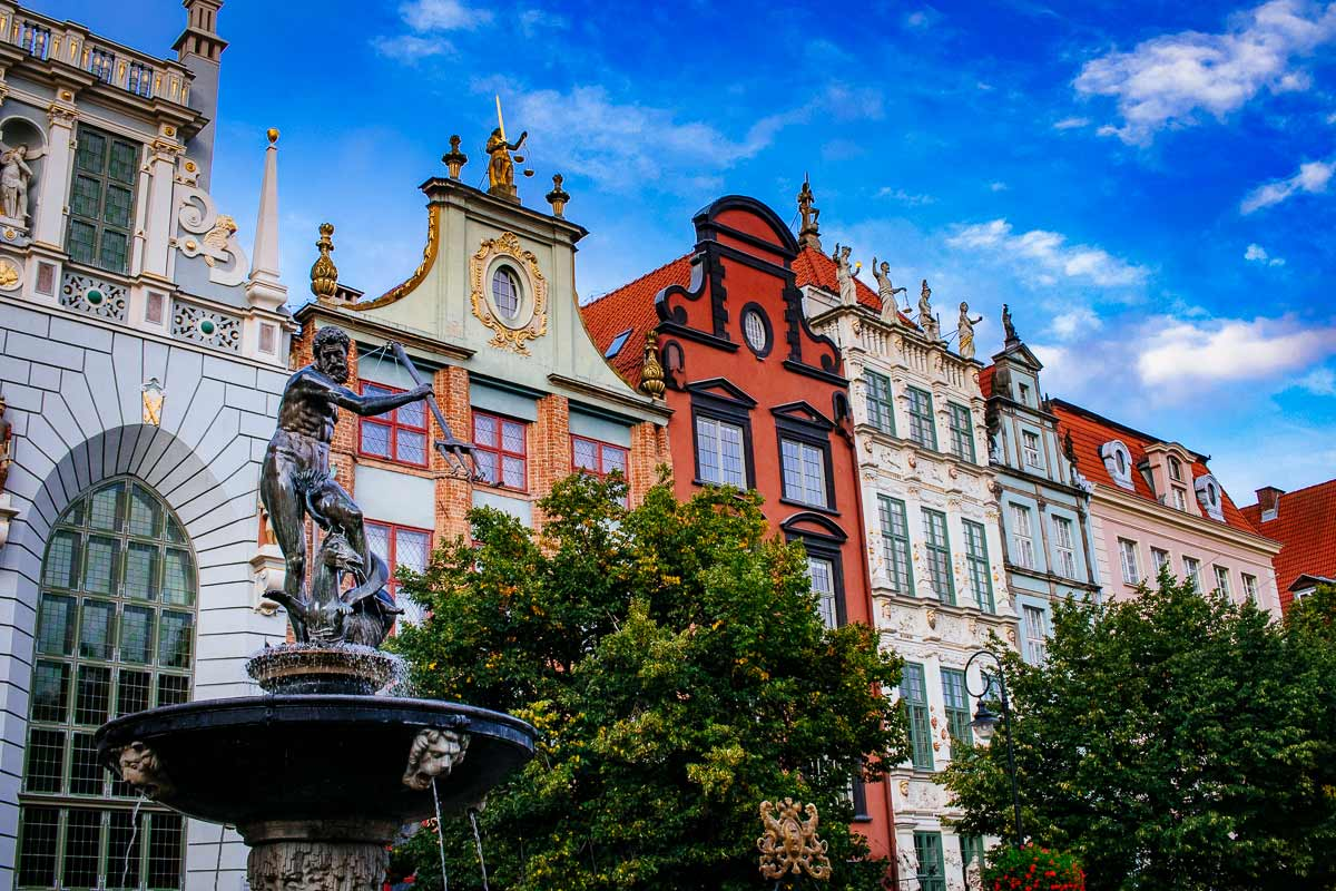 Neptune-Fountain-Long-Market-Gdansk