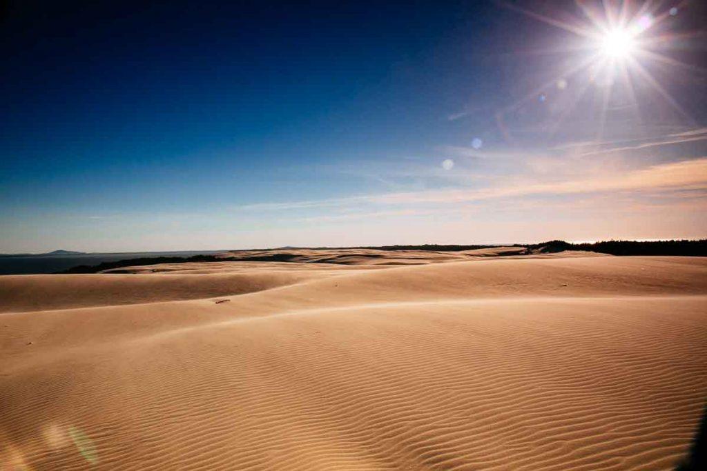 dunes to the west Słowiński