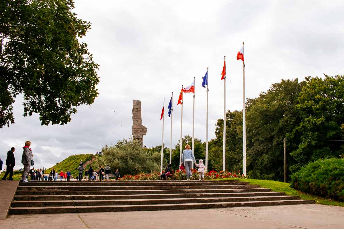 entrance-to-Westerplatte-Memorial-Gdansk-World-War-2