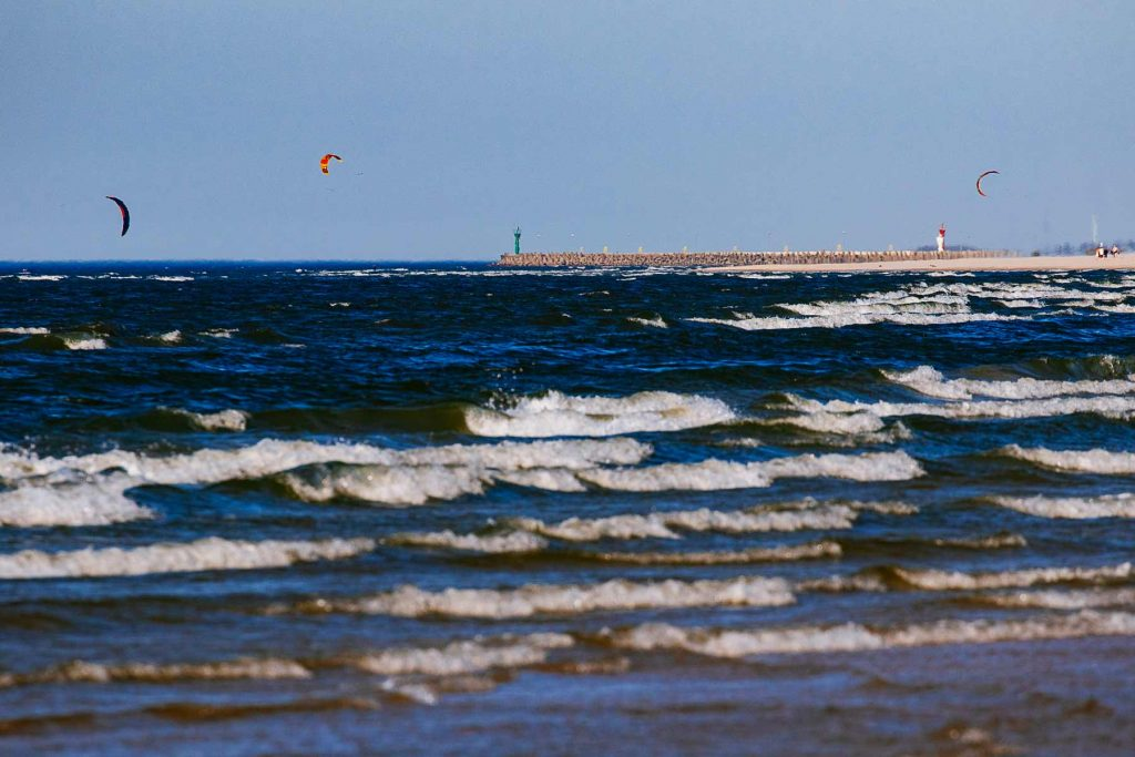 kites Słowinski National Park
