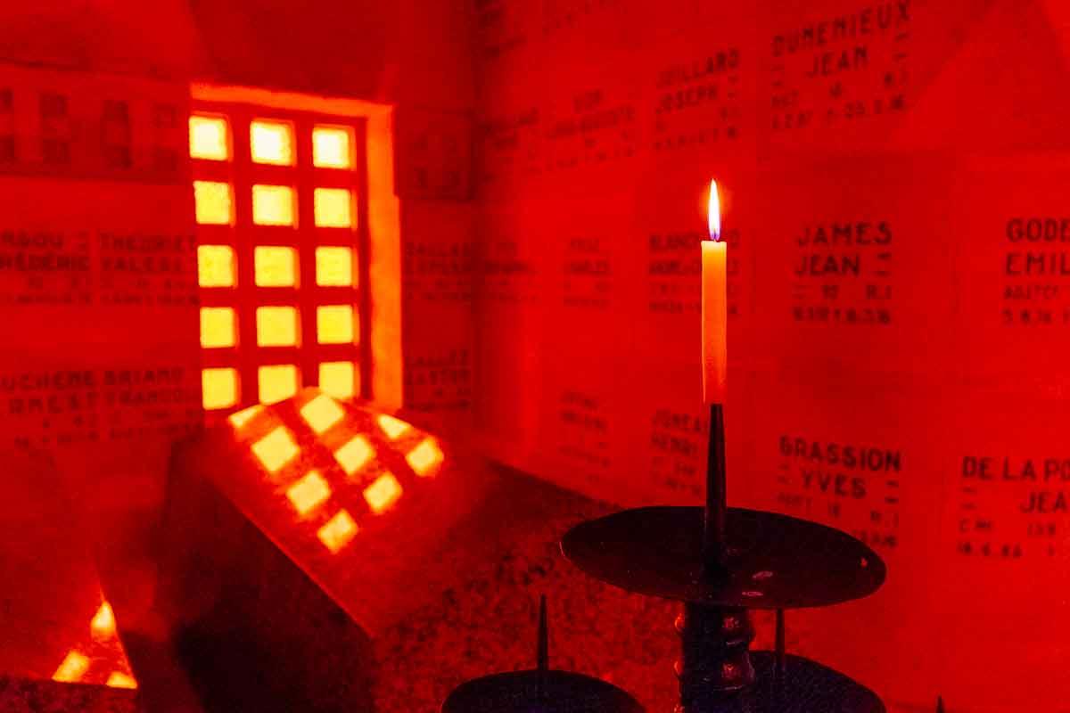 Candle-Douaumont-Ossuary